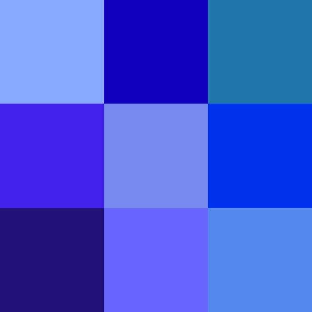 Colour+spectrum+blue