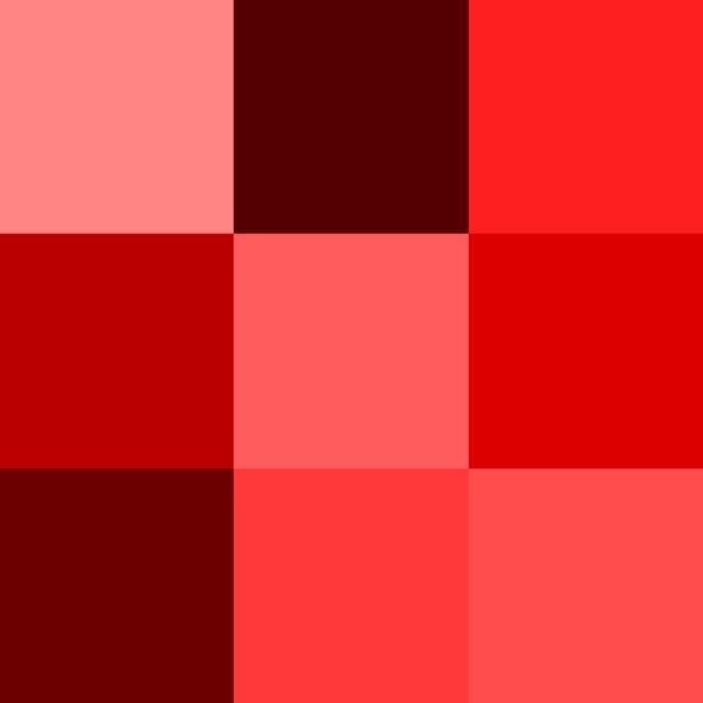 Colour+spectrum+red